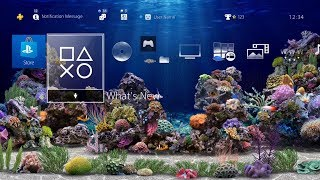 Amazing Aquarium 3D - PS4 Dynamic Theme