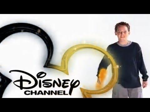 Disney Channel Logo  Jake Thomas BLACK & GOLD