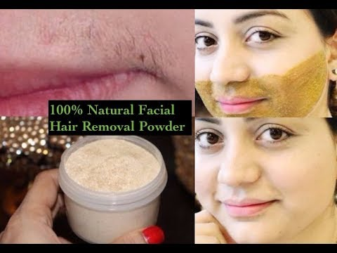 How To Remove Facial Hair Permanently Facial Hair Removal Powder