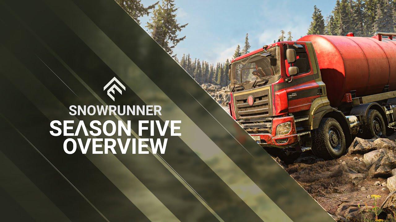 SnowRunner - Season 5 Overview Trailer
