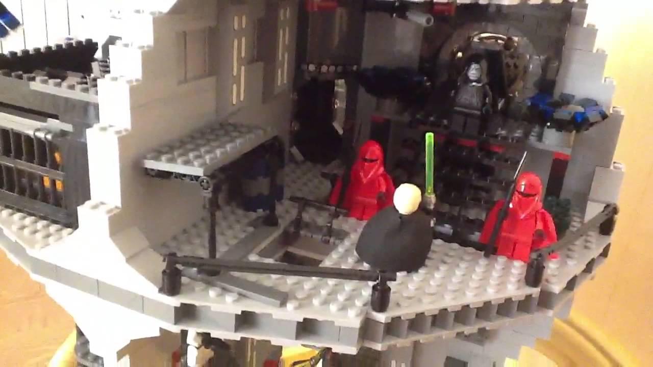 Lego 10188 Звезда смерти - YouTube