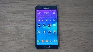 How To Take Samsung Galaxy Note 4 Screen Shot / Capture / Print Screen (4K)