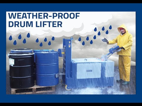 Weather-Proof Drum Lifter