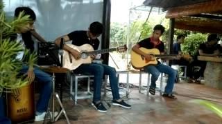 """Hòa tấu guitar """"Tìm lại"""" _ Hắc Dịch music club.."""