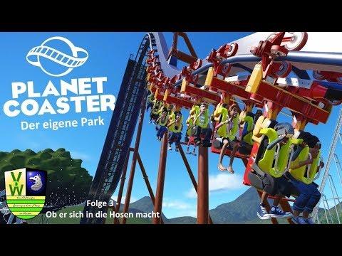 Ob er sich in die Hosen macht | Planet Coaster - Der eigene Park #03 | VanDeWulfen