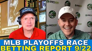 MLB Picks and Predictions | MLB Playoffs Race and Outlook | Playoff Matchups & Free Picks 9/22