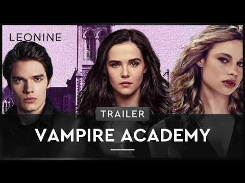 Vampire Academy - Trailer (deutsch/german)