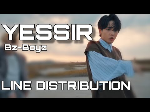 Bz-Boys 청공소년 - YESSIR Line Distribution Color Coded