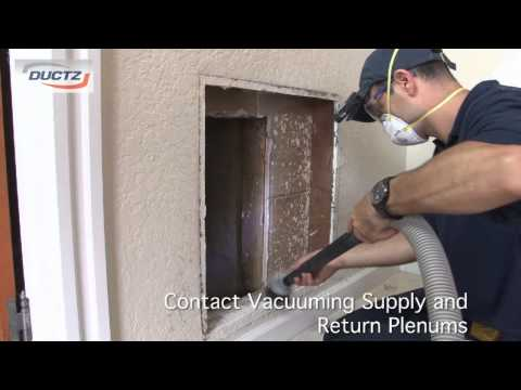 Residential Duct Cleaning Process: DUCTZ