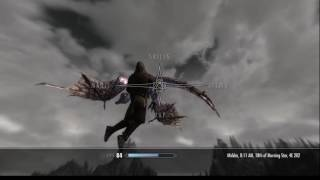 Skyrim Mods PC - Aerial Combat vs Dragons (PCEA2 Hover Animations + Flying Spell)