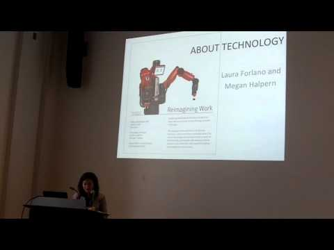 2015.11.17 [Talk] Laura Forlano: About, With and Becoming