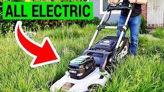 Why an Electric Lawn Mower is Better Than a Gas One | EGO 21'' POWER+ Review