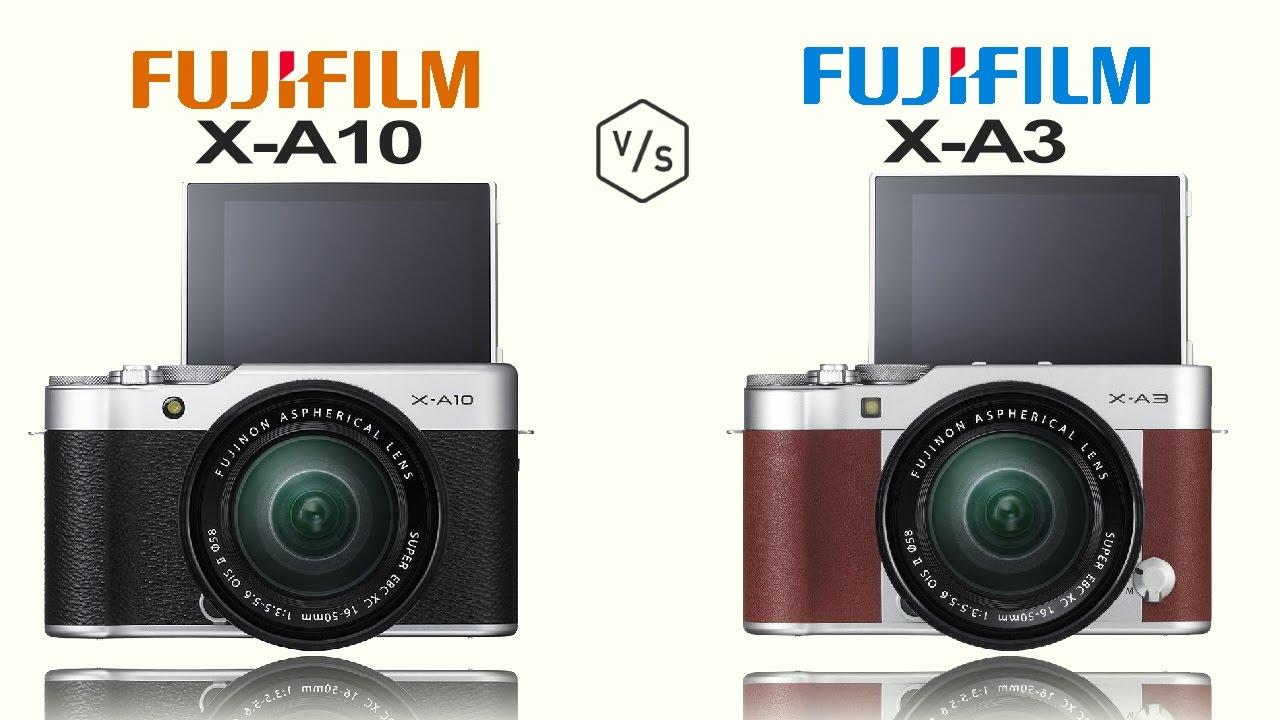 FujiFilm X A10 Vs FujiFilm X A3