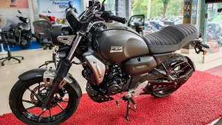Yamaha FZ-X | Matte Black | Walkaround Review - 2021 Yamaha FZ-X | Features, Specs, Price