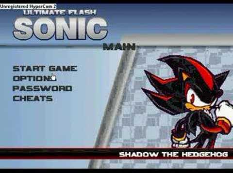 Flash Sonic Cheats