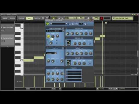 MuLab 6: Slicing Drumloops
