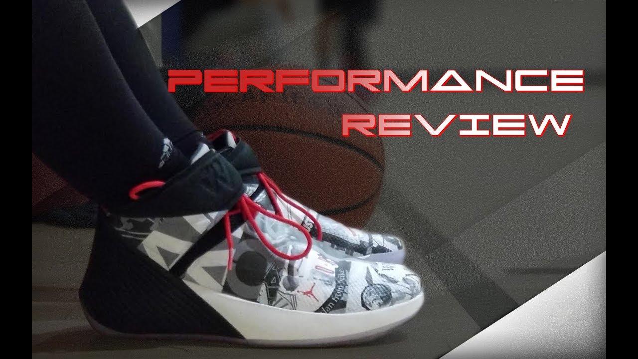 Jordan Why Not Zer0.1 Performance Review