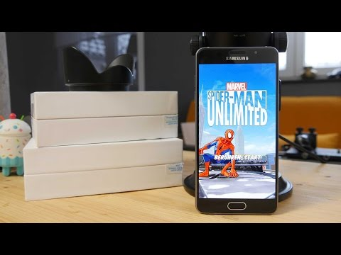 Samsung Galaxy A5 (2016) Spiele & Multimedia Test (deutsch)
