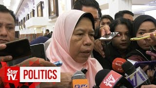 Zuraida: Yes, there's a crack in PKR