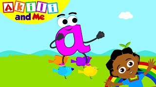 Meet Letter A!   Learn the Alphabet with Akili   Cartoons for Preschoolers