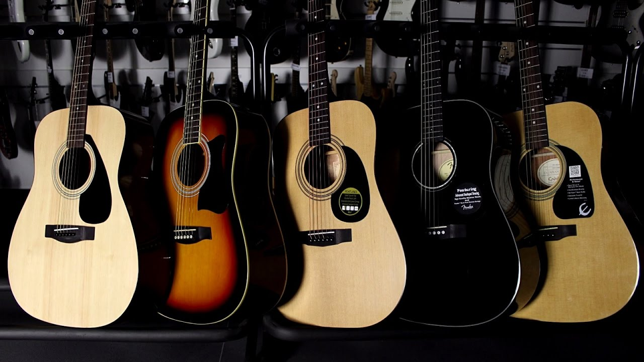 Top 5 Best Acoustic Guitar For Beginners Comparison Youtube