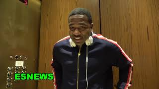 Adrien Broner Sparred Spence Faced Mikey Talks Canleo vs Jacobs EsNews Boxing