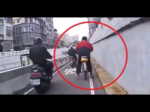 Mira el peor paseo en bicicleta de la historia de un borracho
