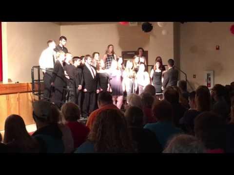 Kids at flippin high school sing Alex junker and Donovan Grunewald
