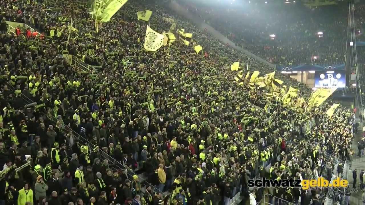 Dortmund - Napoli 3-1  BVB SSC Neapel Stimmung Atmosphere Fans Borussia Dortmund BVB