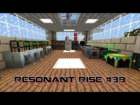[Minecraft]RESONANT RISE - 38 - Scanner & Pattern Storage