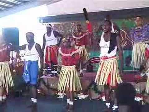 Torres Strait Islander Senior Dancers, Djarragun College, Australia