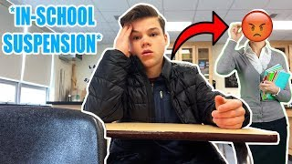 FILMING MY IN SCHOOL SUSPENSION! (BAD IDEA)