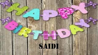 Saidi   Wishes & Mensajes