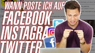 👉Wann poste ich auf Facebook, Instagram & Co.?👈 |  #FragDenDan
