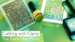 Stamping How To - Earth Has Music 3-Way Overlay