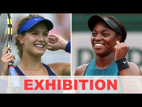 Genie Bouchard vs Sloane Stephens EXHIBITION 2020