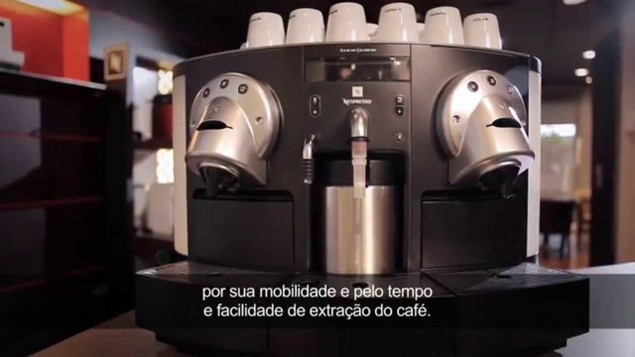 utilizando a sua m quina de caf profissional nespresso youtube. Black Bedroom Furniture Sets. Home Design Ideas