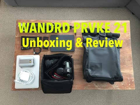 WANDRD Prvke 21 Camera Bag Unboxing & Review