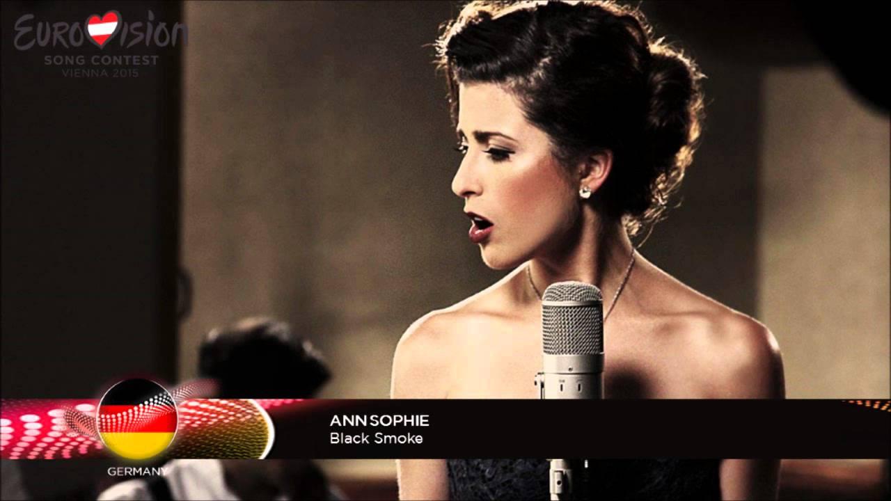 Ann Sophie Black Smoke Eurovision 2015 Germany Youtube
