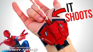Amazing Spider-Man 2 Web Shooter That SHOOTS! EASY TO MAKE
