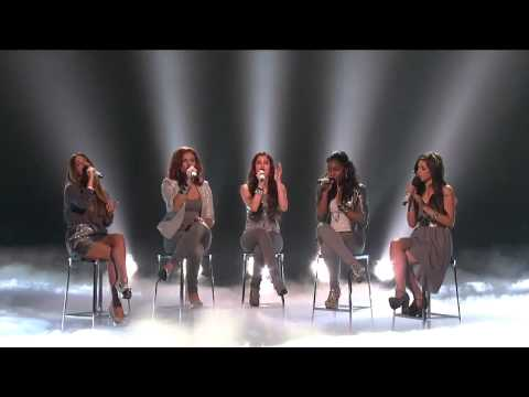 Fifth harmony sings Fire to the rain by Adele X Factor 2012