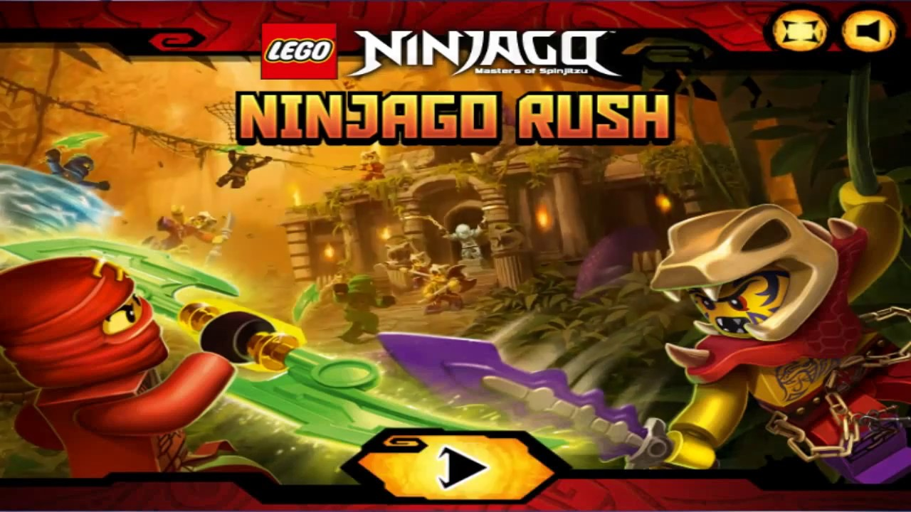Lego Ninjago Rush Free Online Game Play Preview - YouTube