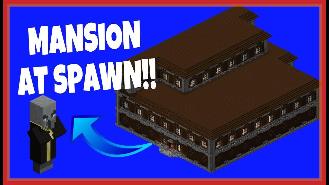 Mansion Seed At Spawn   Minecraft Bedrock  Pocket Edition   New