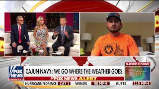 'Help These People and Help Save Lives': Cajun Navy Sends Hundreds of Volunteers to Carolinas