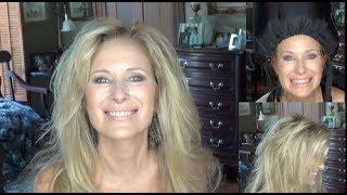 Using A Bonnet Hair Dryer/Over 60 Beauty