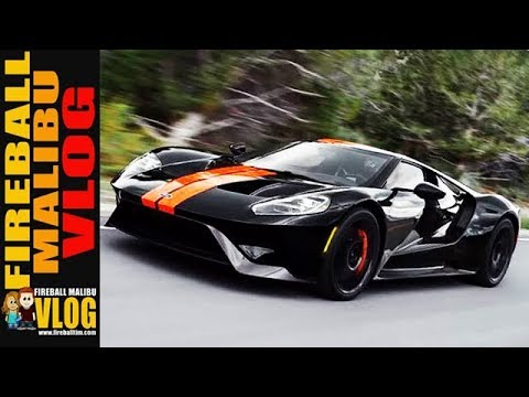 Jay Leno Ford Gt In Malibu Fireball Malibu Vlog