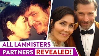 Game of Thrones: The Real Life Couples of Lannisters Revealed  | ⭐OSSA