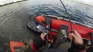 Pike fishing, Lough Deravaragh, Lip Grip Test