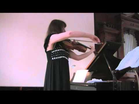 Mieczyslaw Weinberg: Sonata for Viola solo Nr. 1, Julia Rebekka Adler