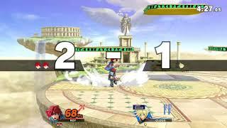 MasonEliwood (Roy) vs. Cloud [5/5] Online Elite Smash - Super Smash Bros. Ultimate / SSBU Replay